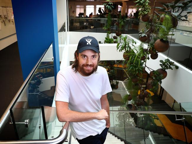 Billionaire software developer Mike Cannon-Brookes. Picture: John Feder