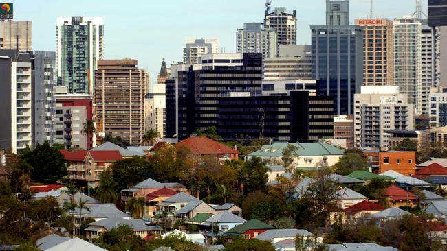 Brisbane has placed 100th on a list of global cities with the highest property price growth. Picture: Patrick Hamilton.