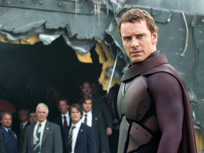 Hard to resist ... Michael Fassbender in a scene from X-Men: Days of Future Past. Picture: Fox films