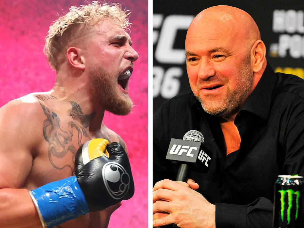 Jake Paul has hit out at Dana White.