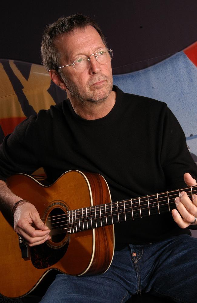 Clapton circa 2003.