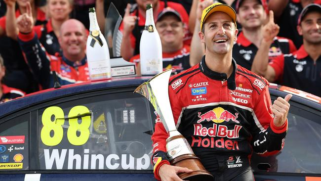 Jamie Whincup will run the No. 1 in season 2018.