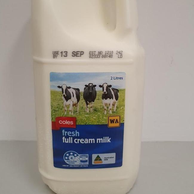 Coles Express recalls milk amid contamination fears in WA