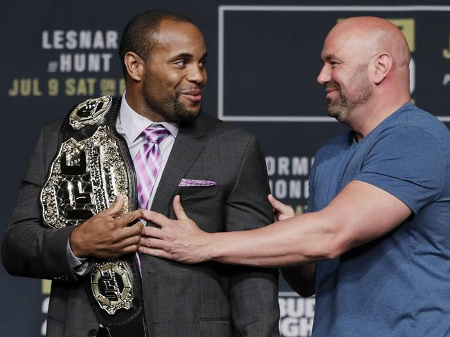 Daniel Cormier regained his UFC belt after Jon Jones' latest drug controversy.