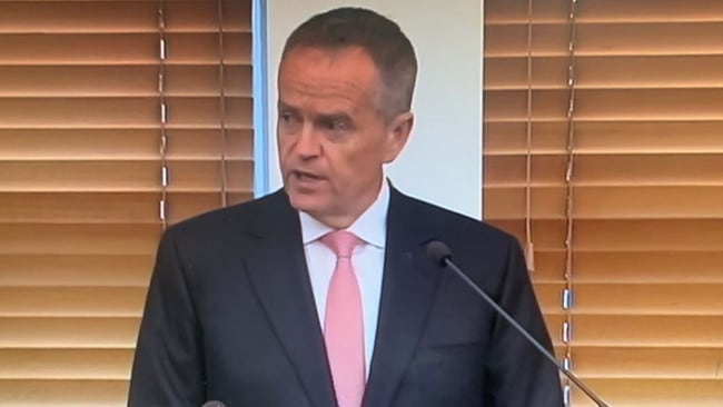 Bill Shorten said he offered his 'regrets' about the result of the federal election.