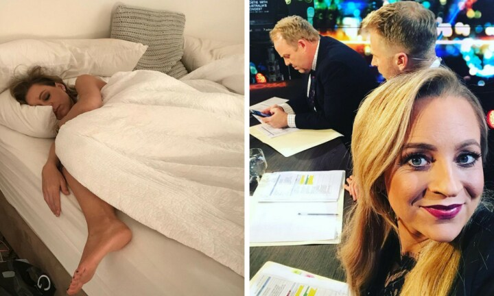 Carrie Bickmore suffered 'terrible' morning sickness