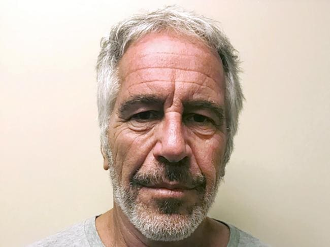 Jeffrey Epstein took his own life in prison earlier this year. Picture: New York State Sex Offender Registry/AP