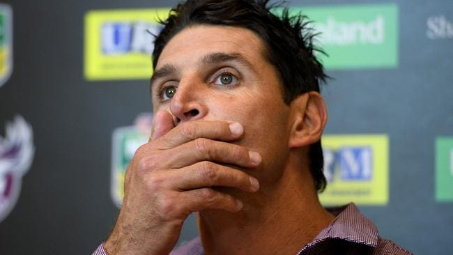Manly Sea Eagles coach Trent Barrett. Picture: AAP