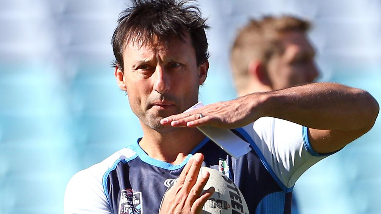 Laurie Daley coaching the NSW Blues back in 2014. Could we see him back on the training paddock soon?