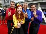 The Wiggles arrive on the redcarpet at the 2014 ARIA Awards in Sydney, Australia. Picture: Bradley Hunter