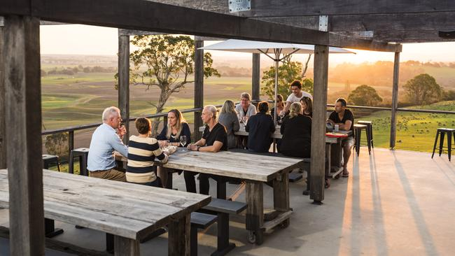 Lightfoot & Sons Cellar Door overlooks Bairnsdale's Mitchell River flats. Picture: Destination Gippsland