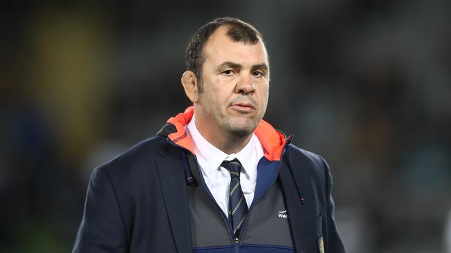 Wallabies coach Michael Cheika has the support of his bosses.