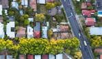A view from directly above a residential suburb of Melbourn, in Victoria State, Australia. Picture: Istock