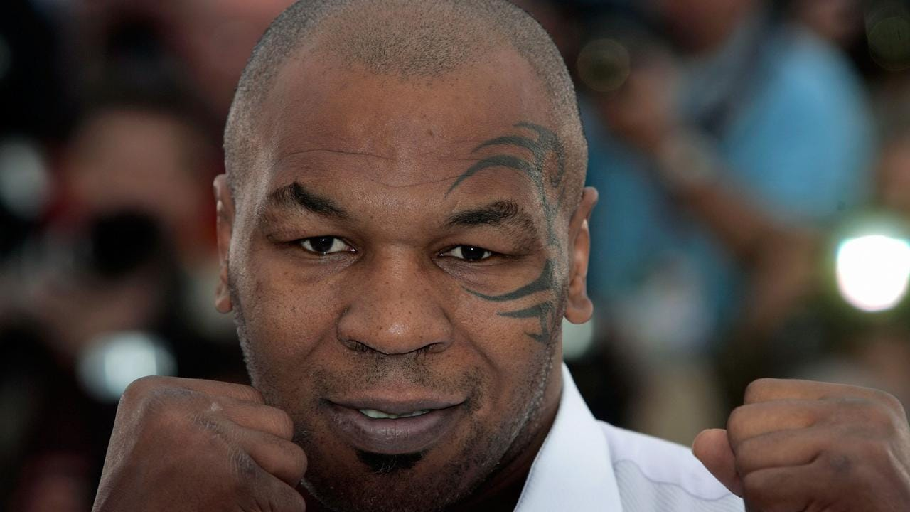Mike Tyson confronted Trump.