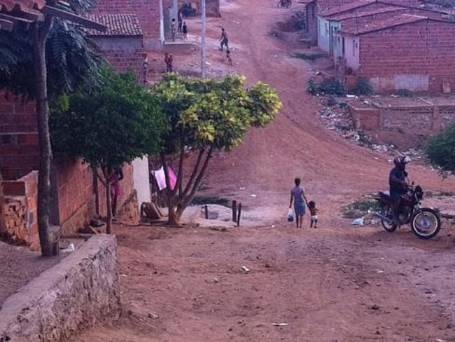 The highway passes through dirt poor Brazilian towns like Salgueiro, where girls as young as nine are sent out to sell themselves.