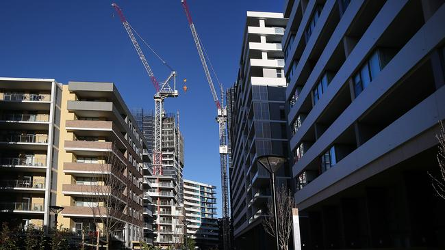 The Ryde area has also seen a high level of new development. Picture: AAP/ Danny Aarons