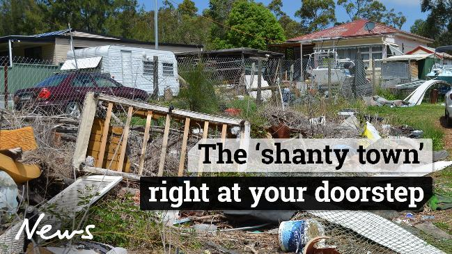 The 'shanty town' right at your doorstep
