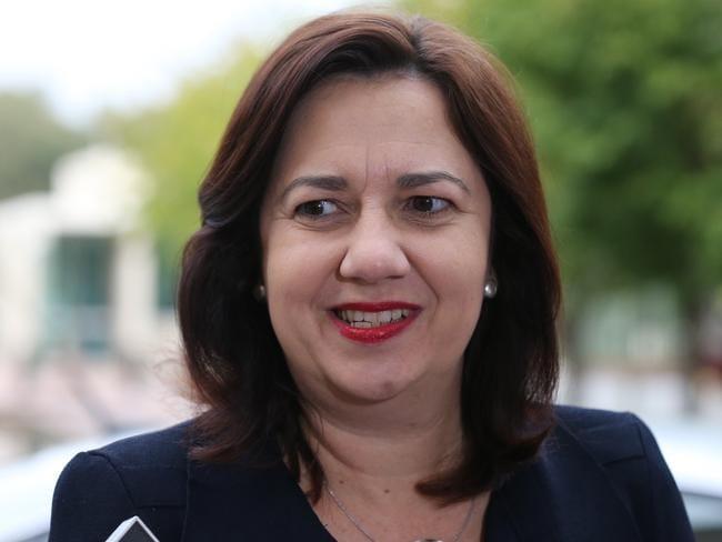 Qld Premier Annastacia Palaszczuk at today's COAG meeting. Picture: Ray Strange.