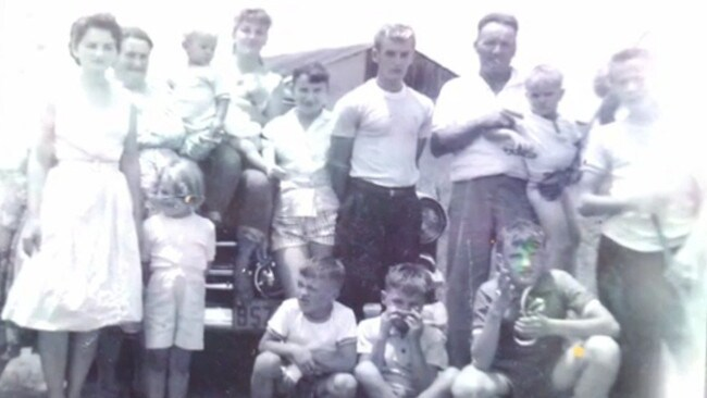 Mother Margaret, (second left) with some of Ivan's brothers and sisters, considered Ivan her favourite, even after he confessed his guilt before she died in 2001.