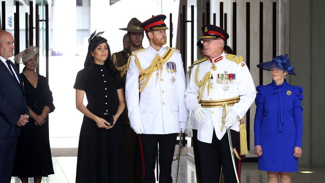 Prince Harry and wife Megha attended the opening of the Anzac Memorial at Hyde Park on their recent visit.