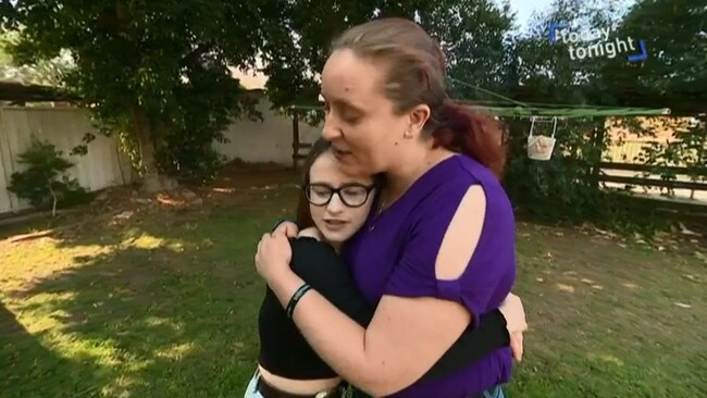 Her mother says Ms Lewis' recovery is a miracle. Picture: Channel 7