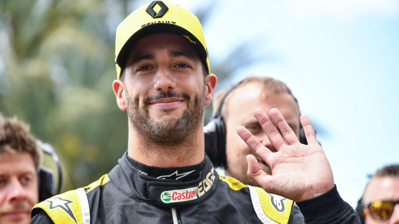 Daniel Ricciardo was a big-money signing for Renault.