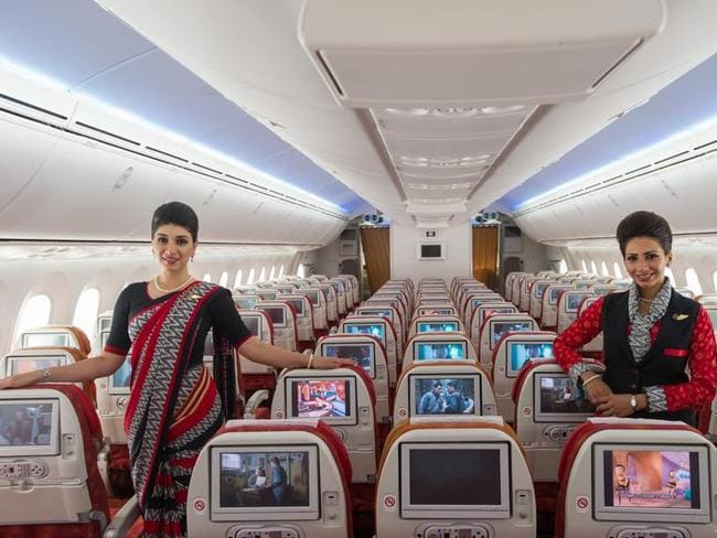 Air India flight attendants have come under scrutiny (not those pictured above).