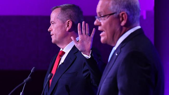The final debate was extremely revealing. Picture: Mick Tsikas/AAP