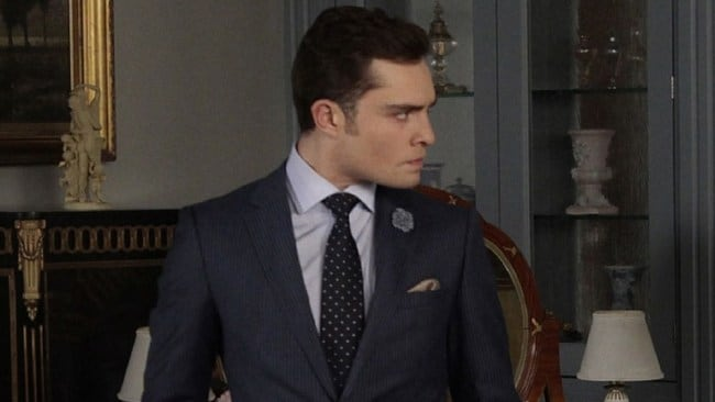 Chuck Bass the bad boy of hit show Gossip Girl