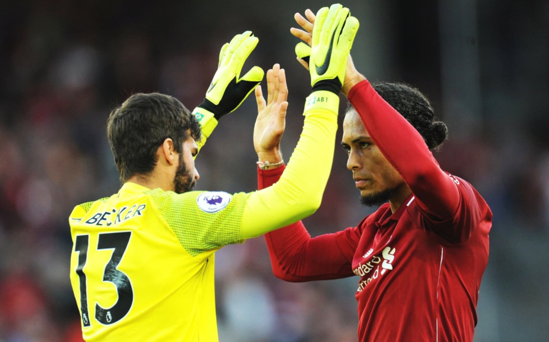 Alisson and Virgil Van Dijk cost Liverpool the same amount they received for Coutinho
