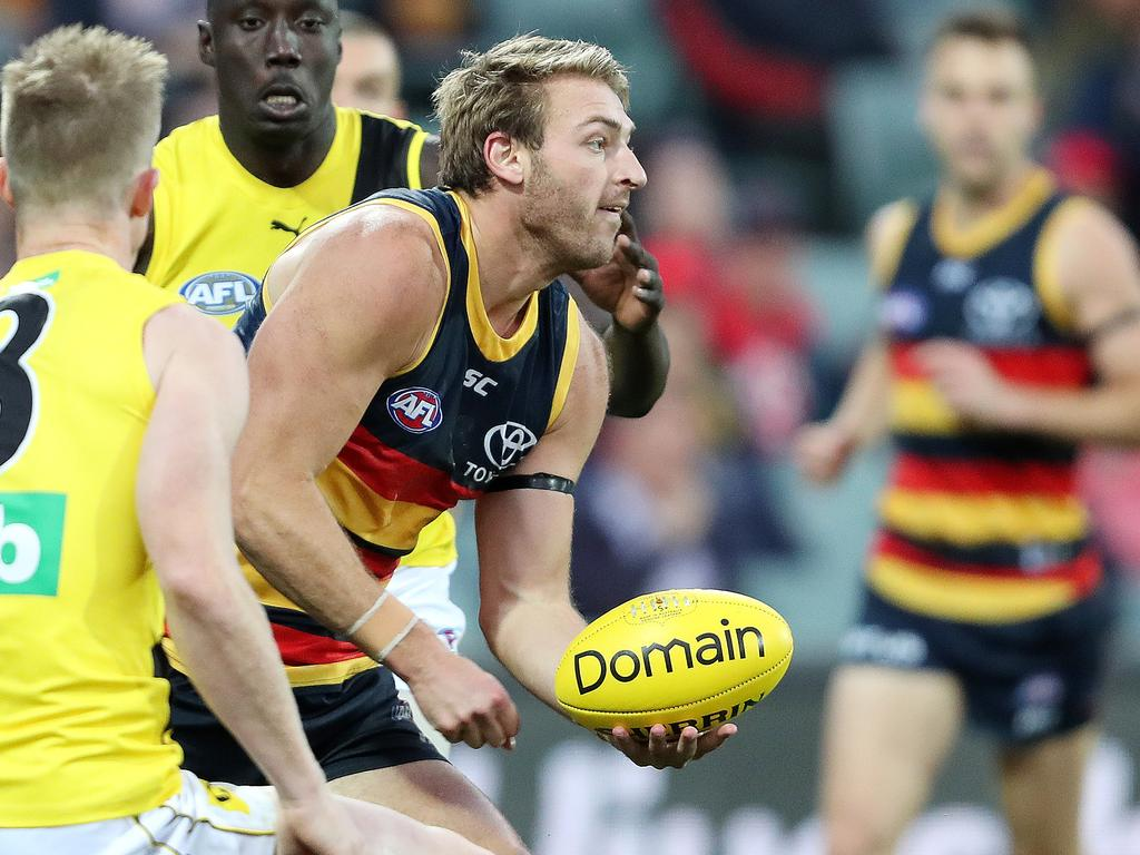 Adelaide's Daniel Talia is contracted until the end of 2021. Picture: Sarah Reed