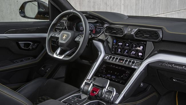 The interior feels like a supercar. Picture: Supplied.