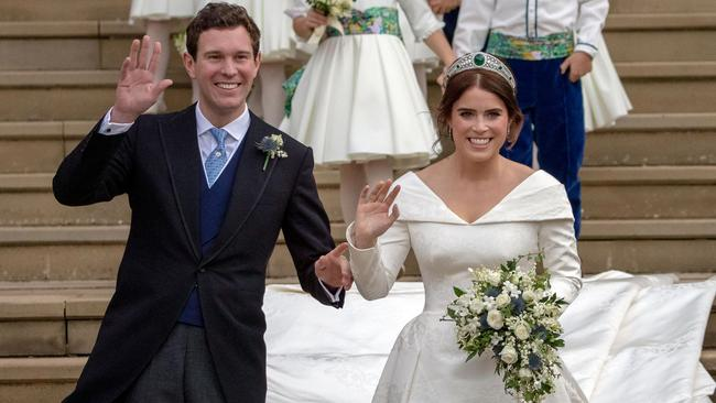 Husband and wife. Picture: Steve Parsons / POOL / AFP)