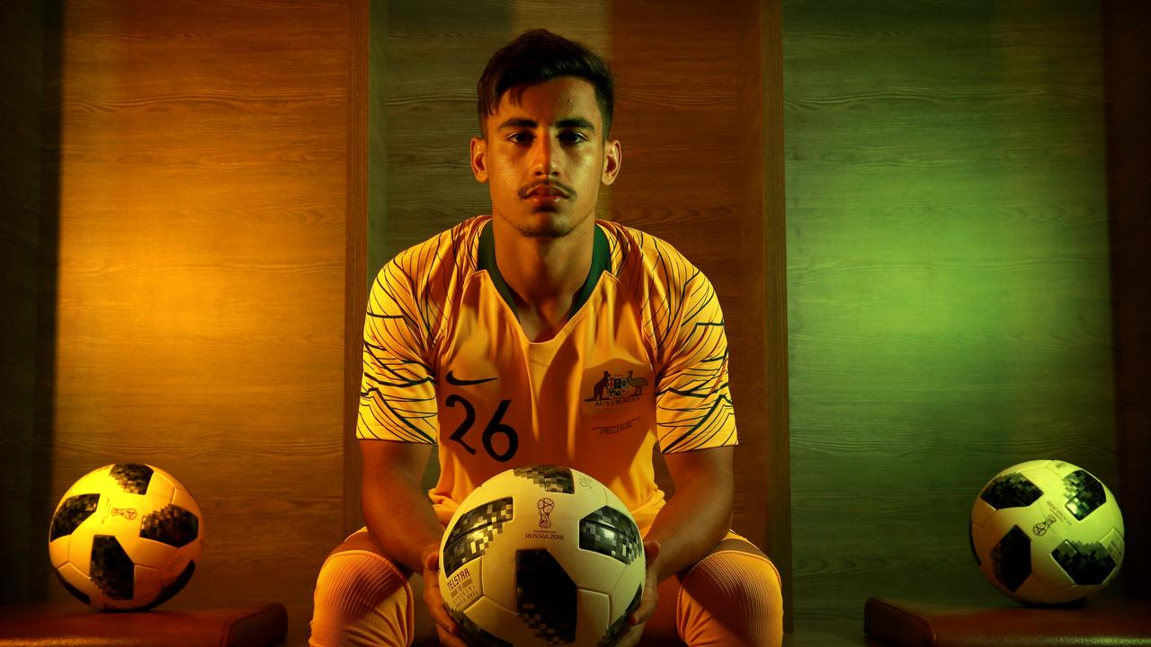 Socceroo Daniel Arzani is being chased by a host of clubs.