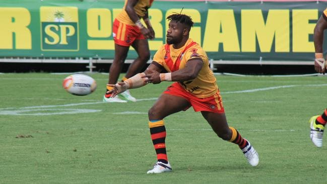 Segeyaro is expected to lead the Kumuls. Picture by Melvin Levongo.