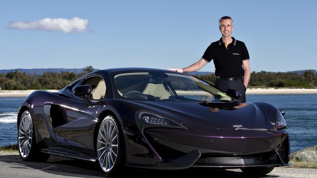 Corey Arps Brand Manager At McLaren Gold Coast With The 570GT Photo Jerad Williams