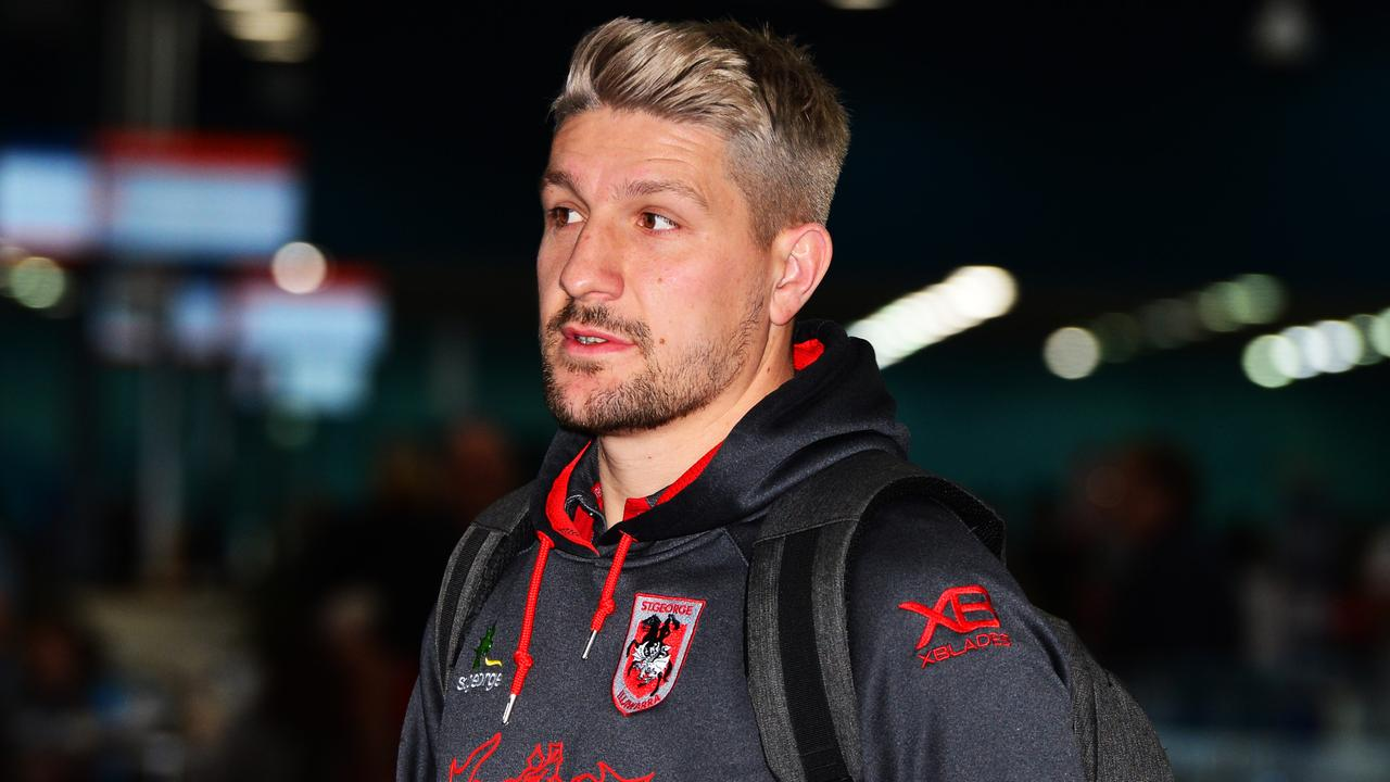 Gareth Widdop has nine seasons in the NRL, with the last five for the Dragons.