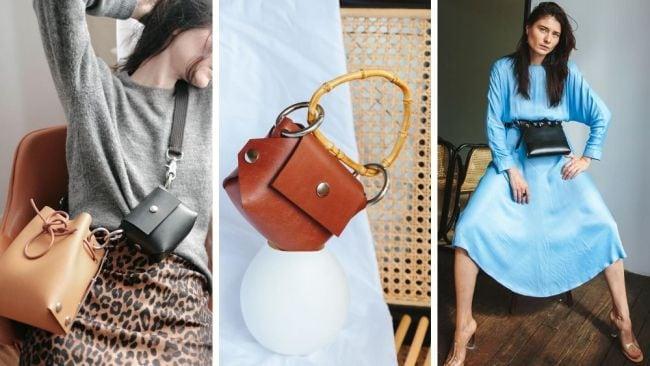 One bag a million different ways. Image: Instagram @katyakomarovaofficial