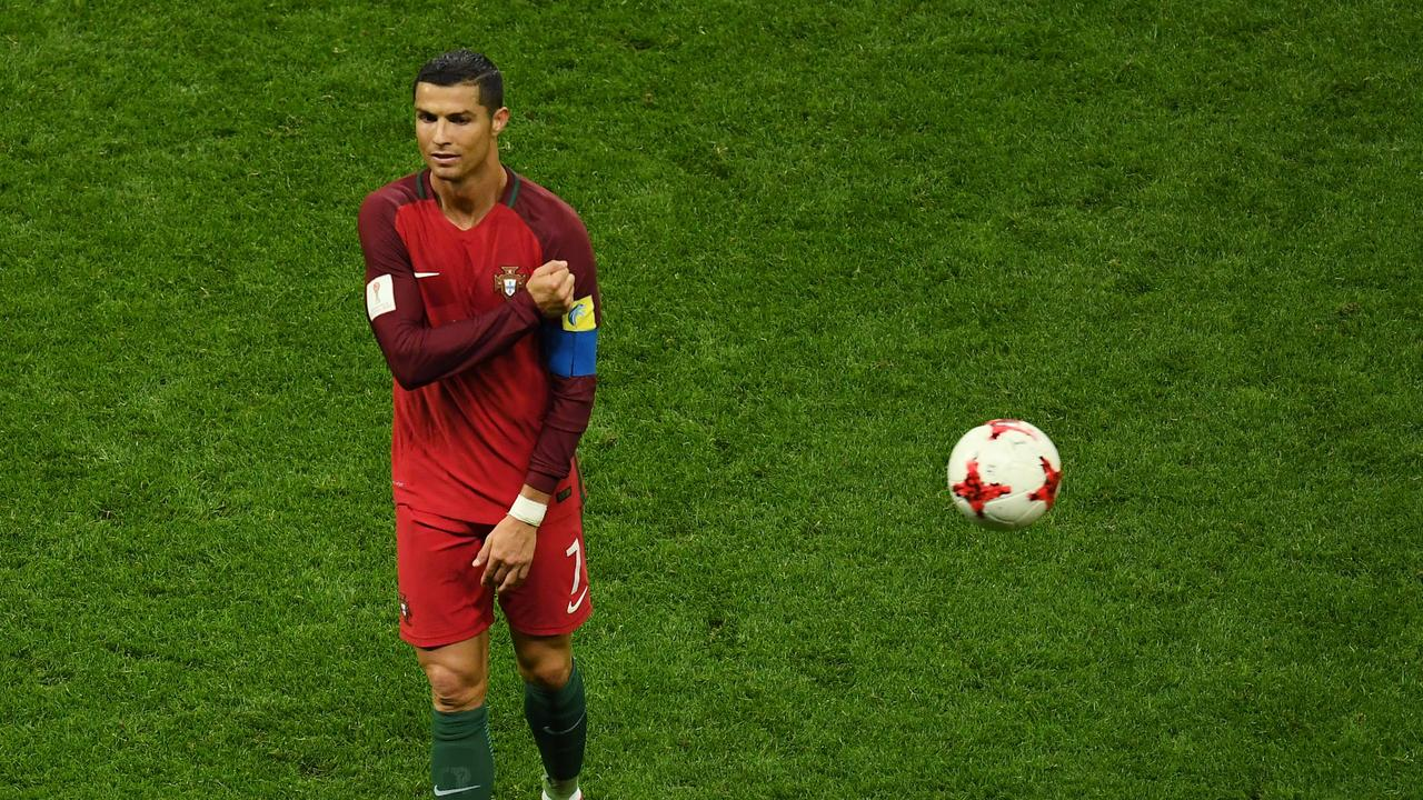 Cristiano Ronaldo did not take a penalty in the semi-finals of the 2017 Confederations Cup.