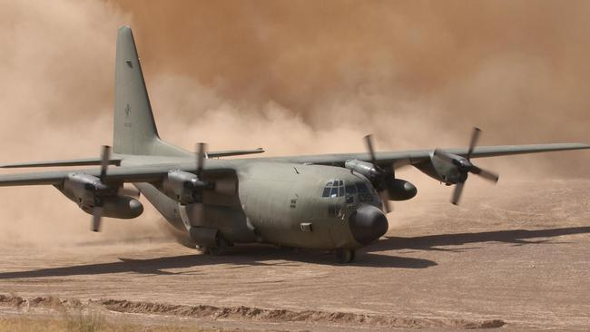 Fear factor ... the attack on the C-130 highlights the high risk faced by Australian aircrews and troops.