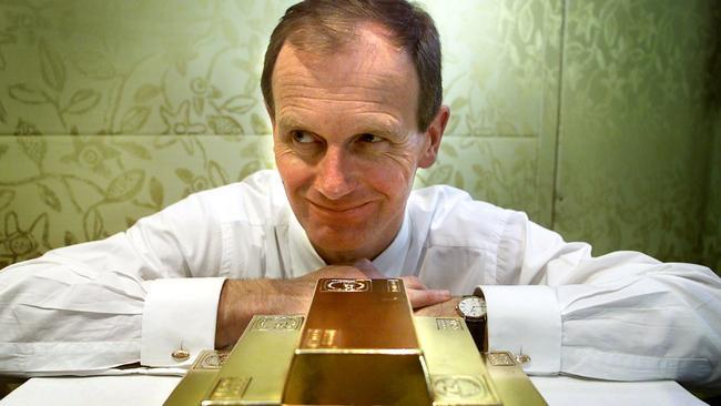 Graham Tuckwell pioneered stock market gold trading. Picture: Gareth Morgan