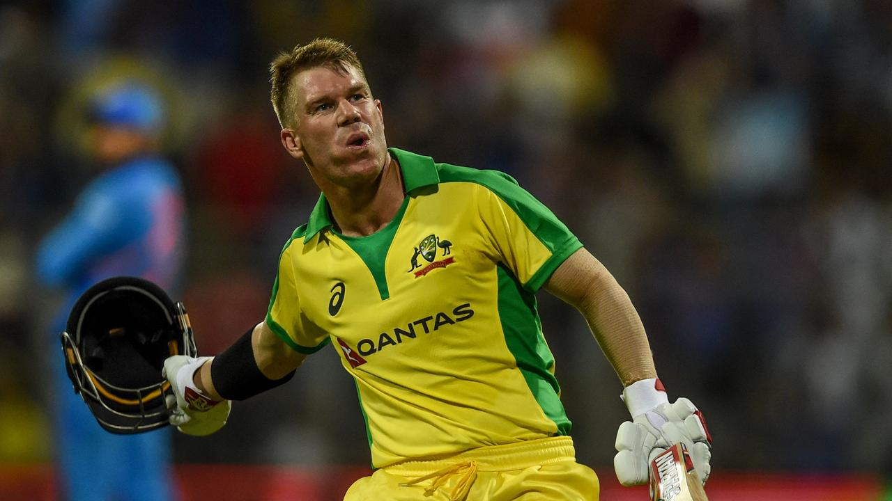 David Warner started the series with a century.