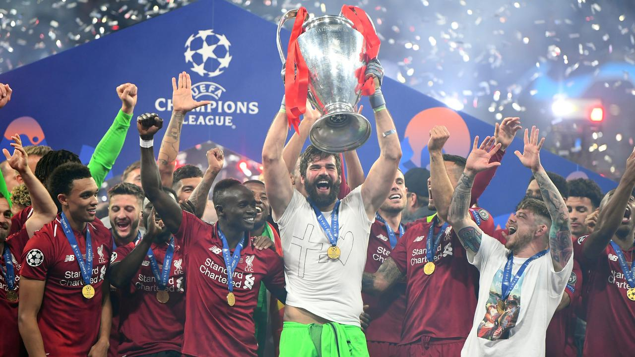 Alisson starred in Liverpool's Champions League triumph over Tottenham