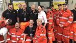 TOWNSVILLE FLOOD DISASTER: Annastacia Palaszczuk with SES volunteers in Townsville. Picture: Twitter