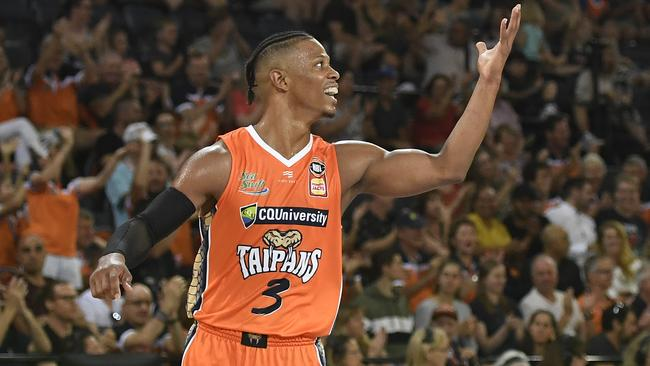 Point god Scott Machado put on a show for the Taipans. Picture: Getty Images