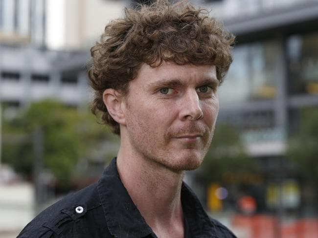 Edward Haynes was attacked at the bus stop. Picture: Regi Varghese/AAP