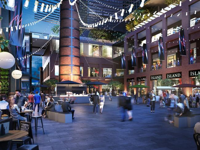 Jam factory in chapel st south yarra to be revitalised in 450m laneways will run through the new look jam factory with a public square containing ccuart Image collections