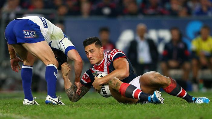 NRL Rd 11 - Bulldogs v Roosters 493291661