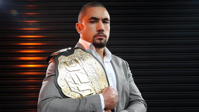 Rob Whittaker has sold out Melbourne's Rod Laver arena. Picture: Richard Dobson