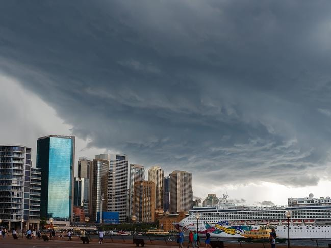Storm clouds are building in Sydney. Picture: Monique Harmer